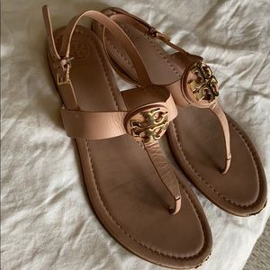 Tory Burch Everly Sandals Size 11 Pre Owned